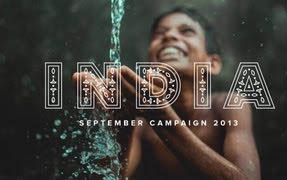September Campaign 2013 - India